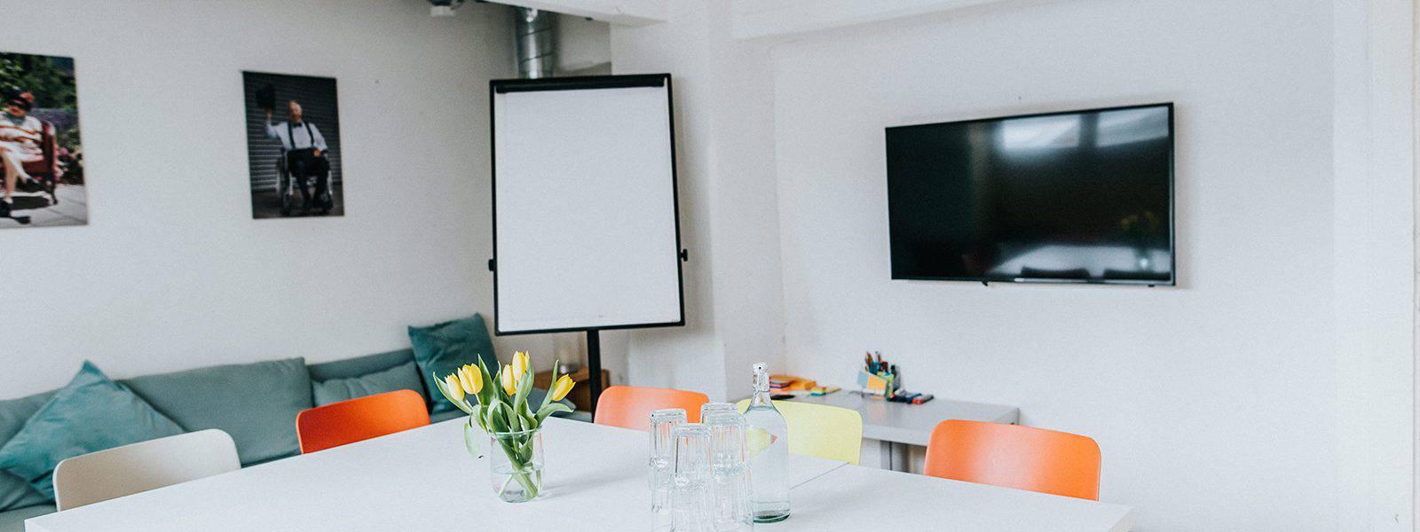 lounge meeting room at Impact Hub Vienna