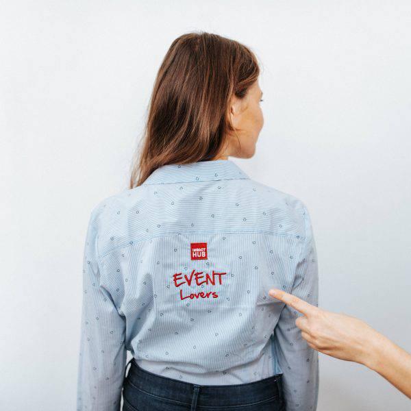 event lovers shirt dedicated event team Impact Hub Vienna