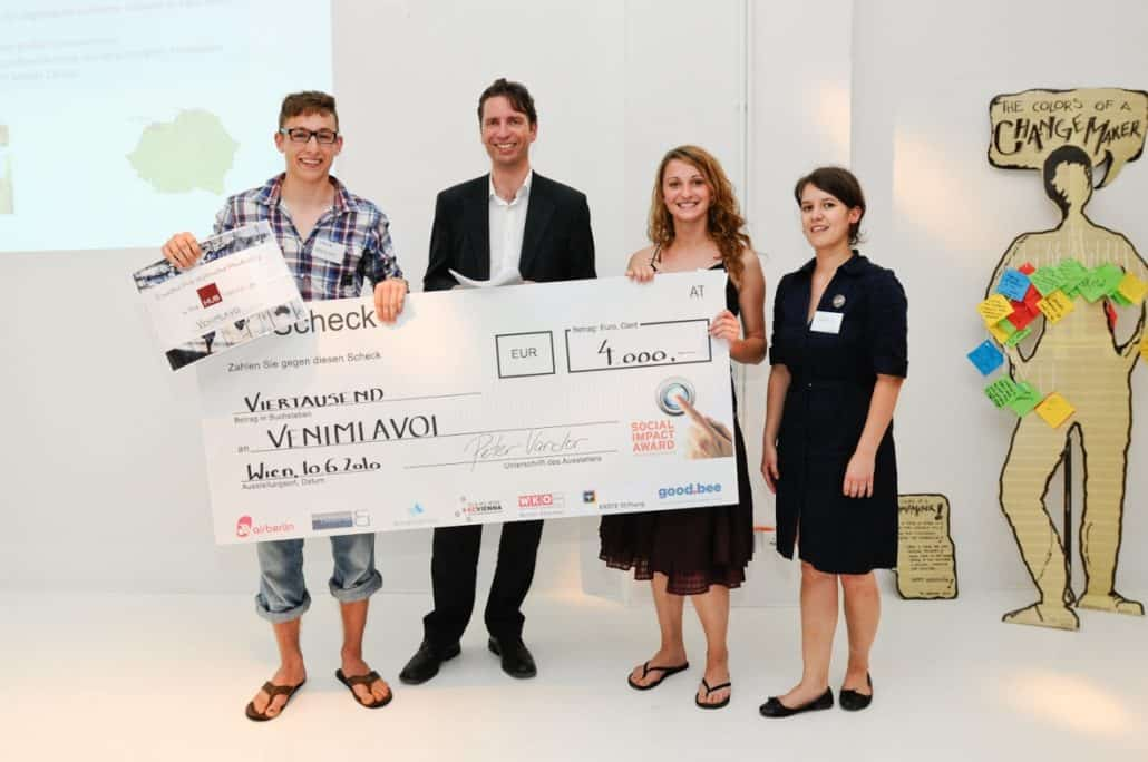 10 years of Impact Hub Vienna - Social Impact Award