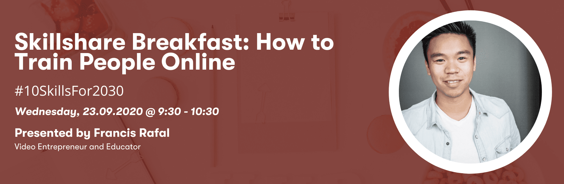 Skillshare Breakfast: How to train people online