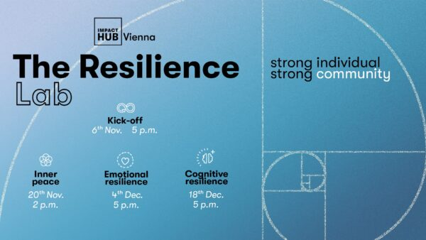 Resilience Lab Strong Individual, Strong Community - All Events
